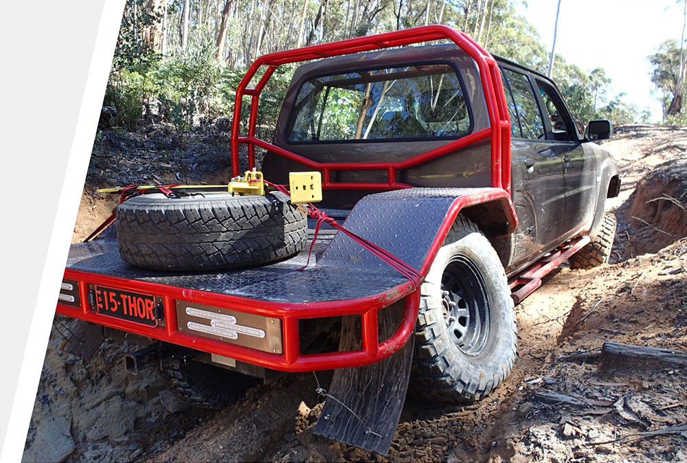4wd modification