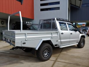 Amarok chassis extension