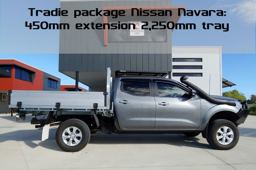Navara 450mm chassis extension