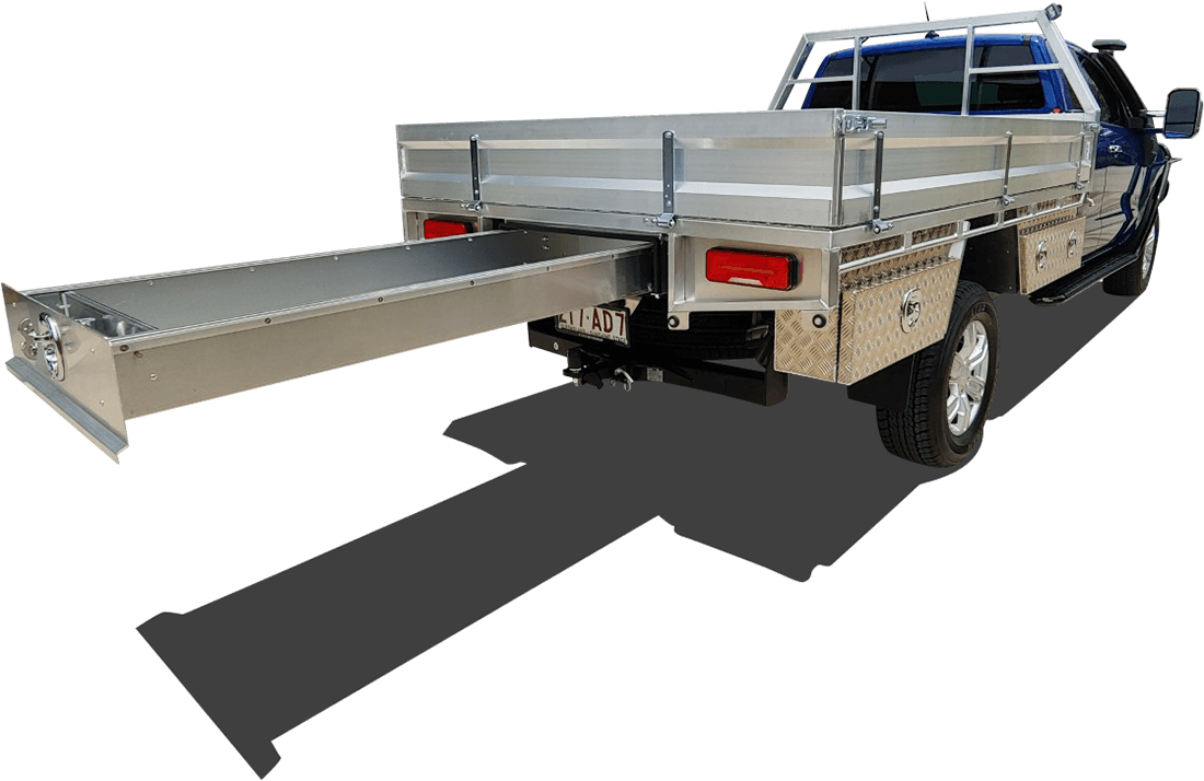 Custom aluminum tray extras